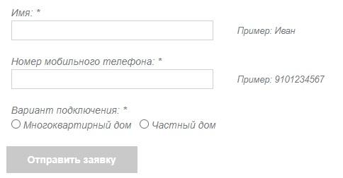 ИТНЕТ33 заявка