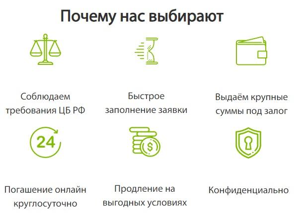 АртФинанс преимущества