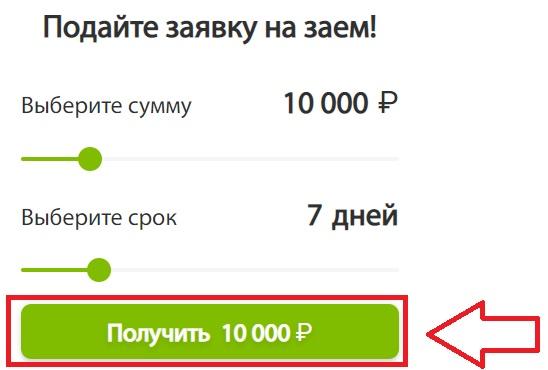 АртФинанс заявка